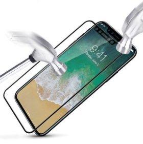 Защитные стекла iPhone Samsung Lg Xiaomi Meizu