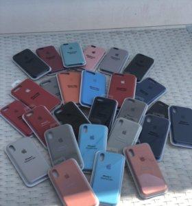Чехлы Apple (Silicone Case)
