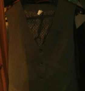 Жилетка на девочку dress code