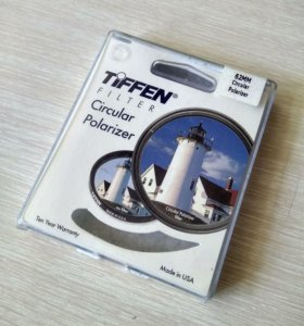 Светофильтр Tiffen Circular Polarizer 62 mm