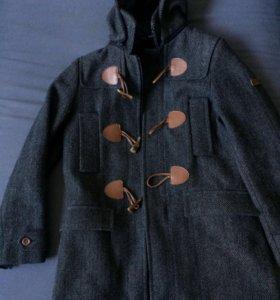 Пальто со внутренним съемным жилетом gulliver