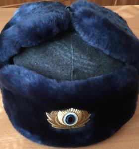 Полицейская шапка-ушанка