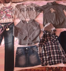 Фирменный пакет одежды для девочки 11-12 лет