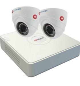 Комплект HD видеонаблюдения ActiveCam-2-1
