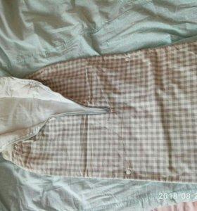 Спальный мешок от 0до 1.5-2лет