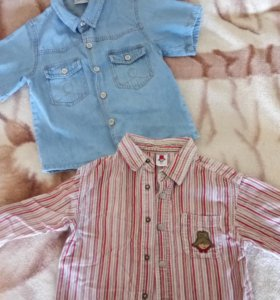 Рубашки на мальчика 2 - 2,5 лет