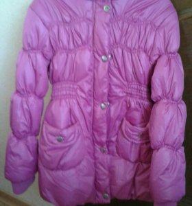Пальто осеннее детское