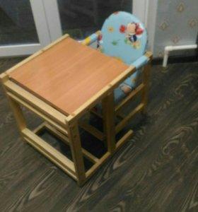 Детский стульчик, трансформер