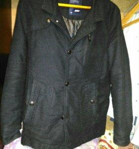 Мужское замшевое пальто