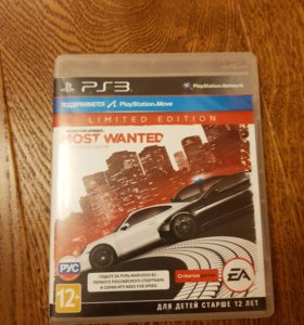 Игра для PS 3 - Need For speed (Most Wanted)