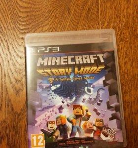 Игра для PS 3 - Minecraft Story Mode