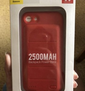 чехол-зарядник на 7,8 айфон