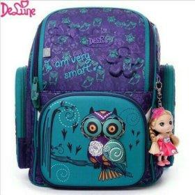 Школьные рюкзаки Delune