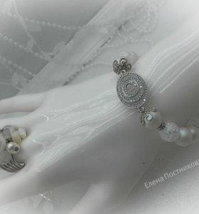 браслеты из натуральных камней