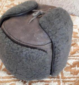 Мужская шапка(натуральный мех)