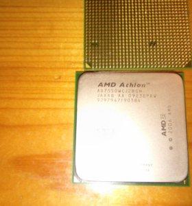 Процессор AMD Athlon x2 7550 и кулер Zalman