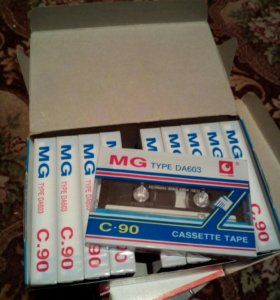 Аудиокассеты MG