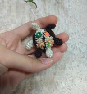 Тузя (игрушка Нюши), связанный крючком