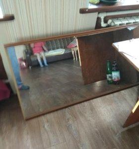 Зеркало в каркасе 0,75×2,78см