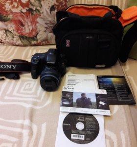 Продаётся цифровой фотоаппарат SONY @57
