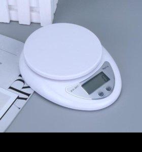 Весы кухонные электронные новые
