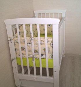Кровать детская Красная звезда (Можга) Марина С700