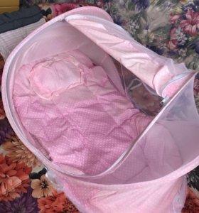 Переносная Детская кроватка