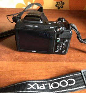 Цифровой фотоаппарат Nikon coolprix L340