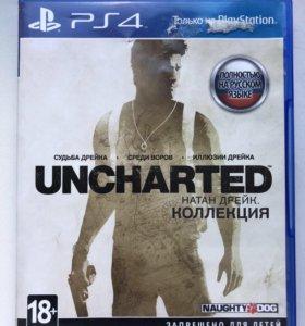 Игра Uncharted коллекция для PS4