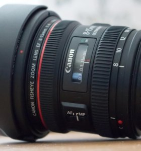 Canon 8-15mm Fish-eye