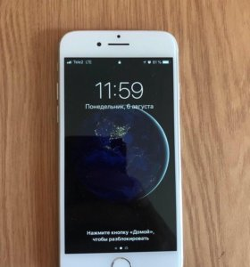 Продам iPhone 7 silver 32 gb