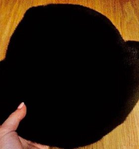 Шляпа натуральная норка .возможен торг