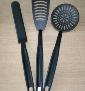 Приборы для посуды с тефлон. и керамич. покрытием