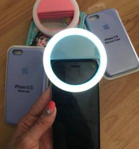 Селфи фонарь для телефона