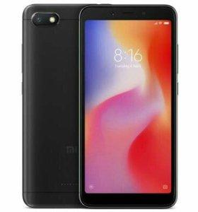 Xiaomi Redmi 6A.Global.Black.Ростест.Гарантия год.