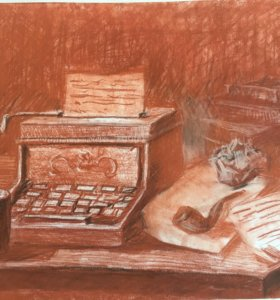 Рабочий стол писателя