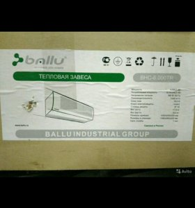 Тепловая завеса Ballu BHC-6.000 TR (BHC-6 TR)