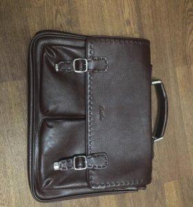 Мужская сумка(настоящая кожа)