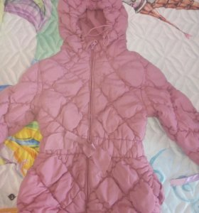 Пальто на девочку на 3-5 лет