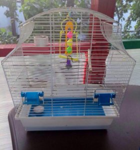 Клетка для попугая или амадинов.