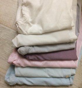 Рубашки школьные 8-10 лет по 50-100 руб