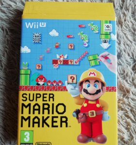 Игры Nintendo WiiU Super Mario Maker и другие