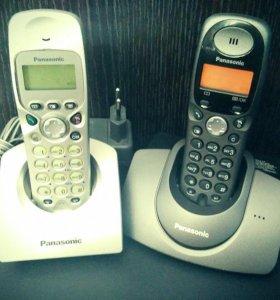 Panasonic Серии KX. База и 2 радио-трубки
