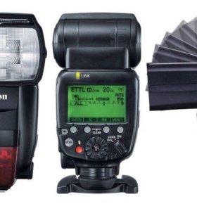 Фотовспышка Canon 600EX-RT. Забирайте, уезжаю
