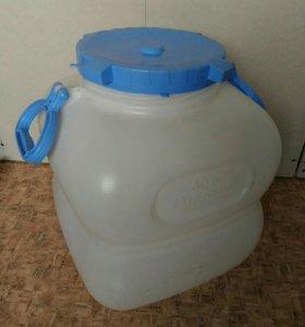Бидон пластиковый пищевой 40 л (фляга)