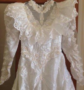 Платье свадебное для рукоделия
