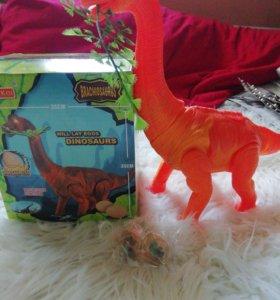 Динозавр шагающий