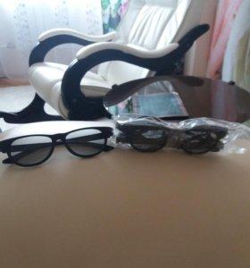 3D очки. В наличии 3 штуки. 500 р. За штуку.