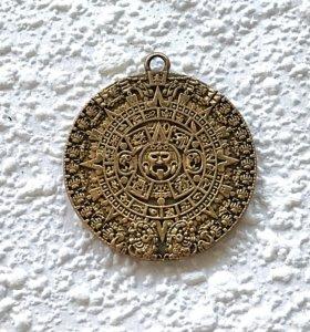 Кулон Календарь майя