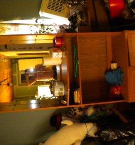 3 шкафа для посуды, книг и мелочей